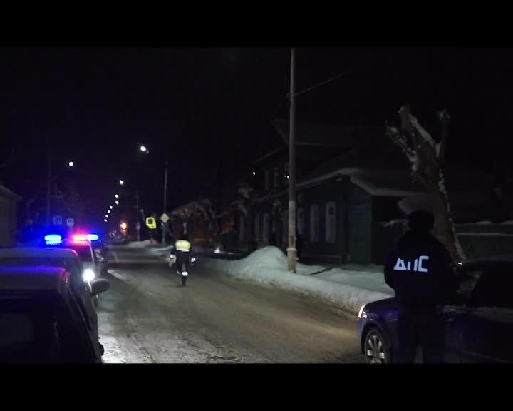 В Костроме задержали пьяного водителя