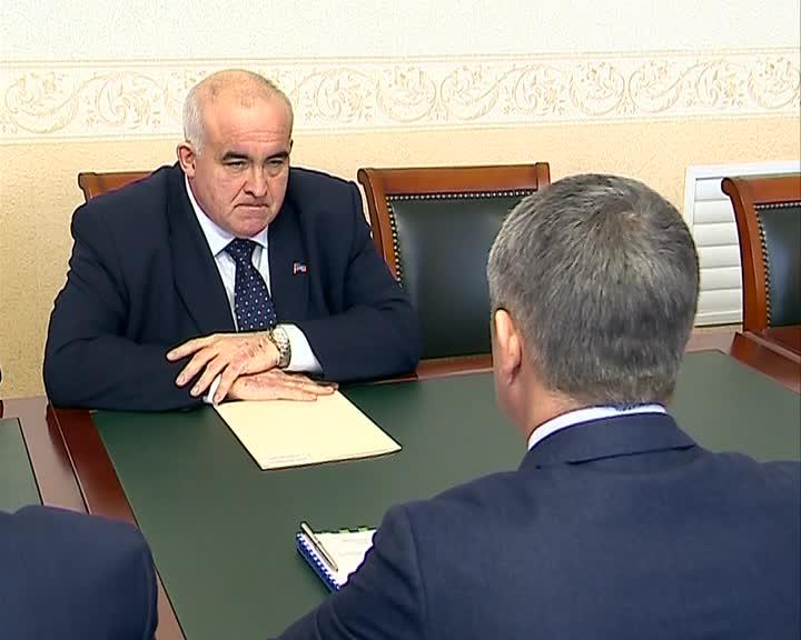 Губернатор Сергей Ситников встретился с генеральным директором «МРСК Центра» Игорем Маковским