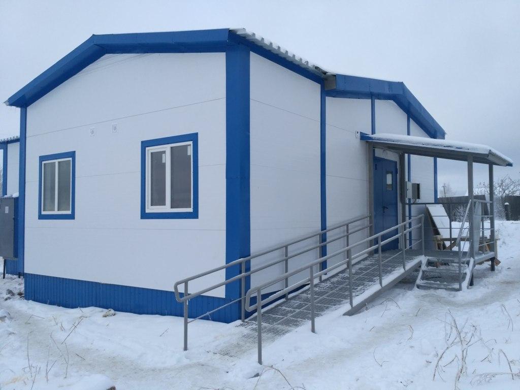 В Костромской области установят ещё два новых модульных ФАПа