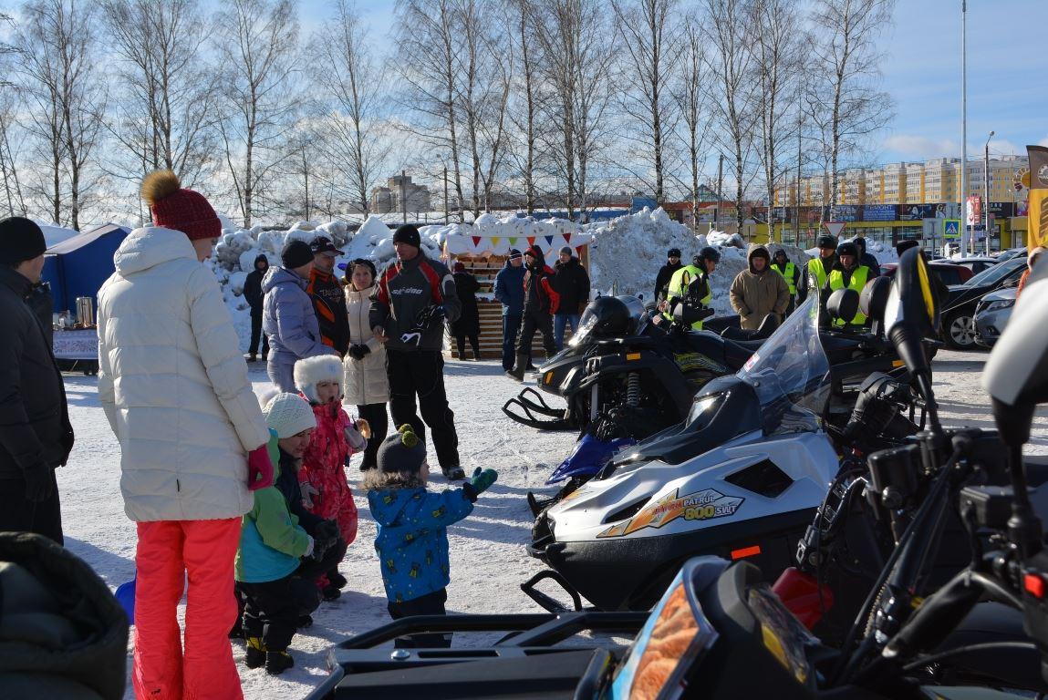 В субботу в Костроме стартует фестиваль снегоходной техники