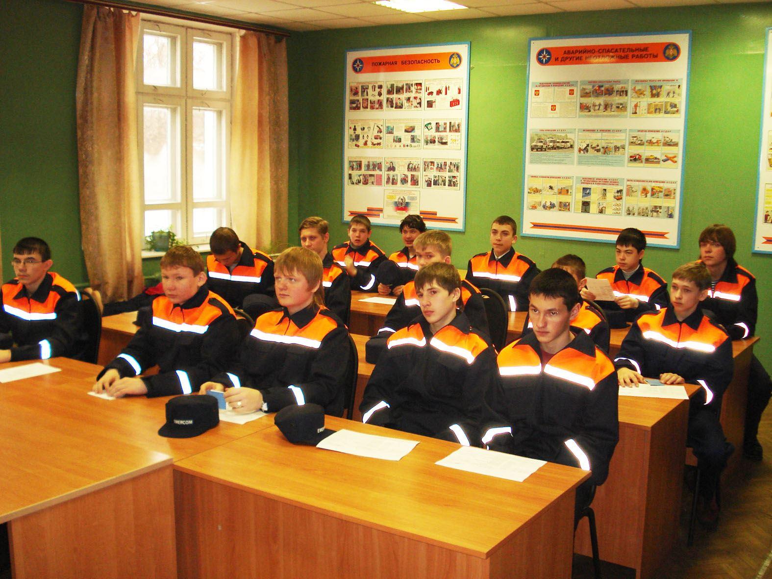 В Костроме начинается набор в школу «Юный спасатель»