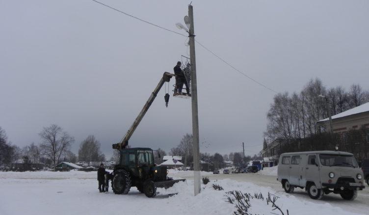 В Вохомском районе Костромской области началась подготовка к зимним спортивным играм