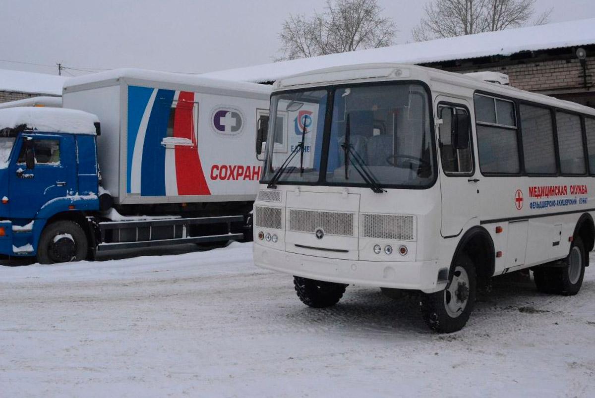 На северо-востоке Костромской области начал работу новый мобильный ФАП