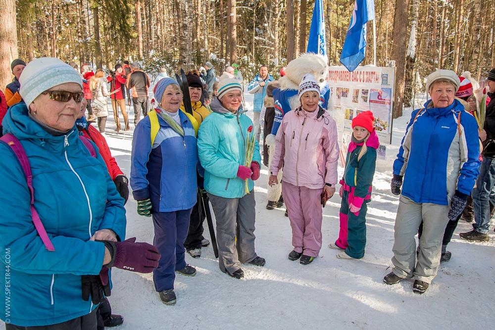 8 марта костромичек ждут подарки на лыжне