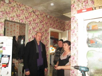 В Костромской области начали устанавливать пожарные оповещатели в домах многодетных семей