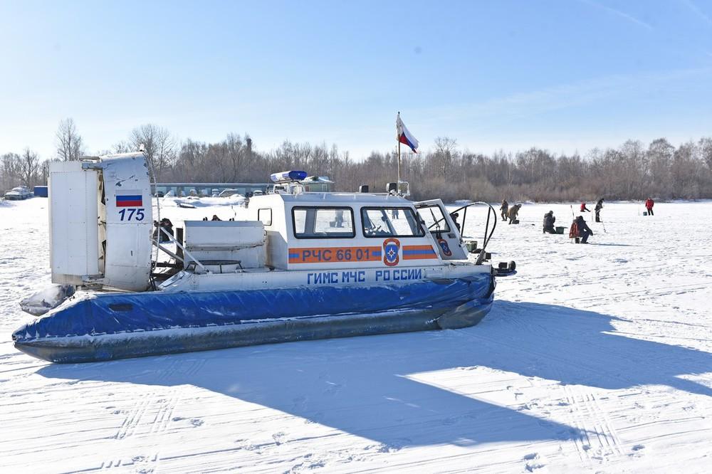 Толщина льда на реках Костромской области достигла критической отметки