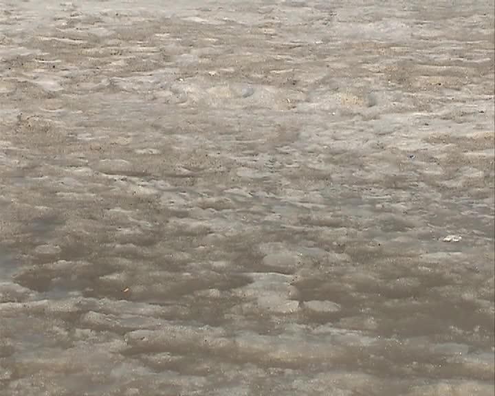 Прочность льда на реках Костромской области снизилась на четверть