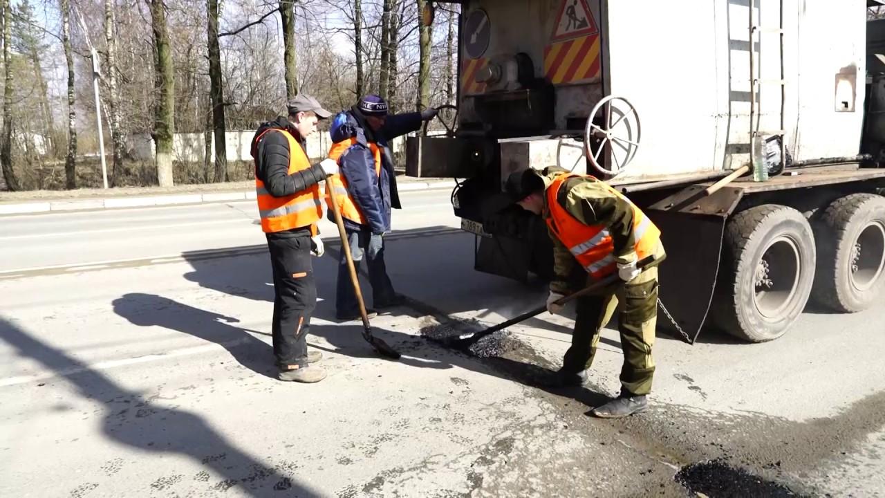 В Костроме идет ремонт дорог