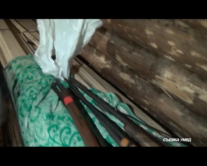 Полицейские нашли у жителя Костромской области винтовку Мосина 1891 года и 2 кг конопли