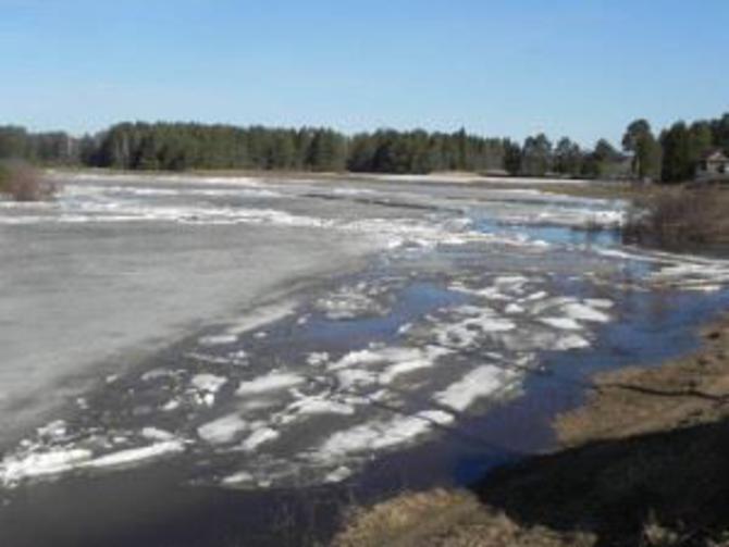 На реках Костромской области продолжается активное таяние льда