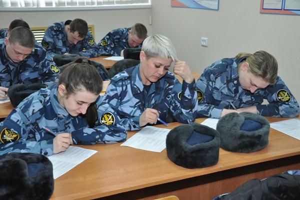 В Костромском областном Управлении ФСИН прошел конкурс профмастерства среди младших инспекторов отделов режима и надзора