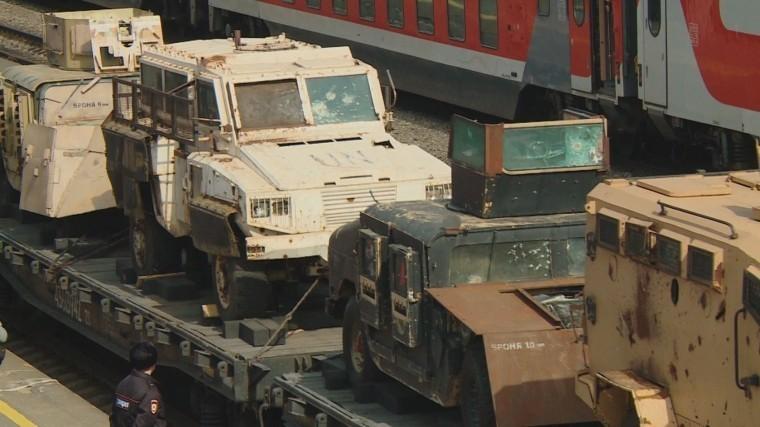 Сегодня на железнодорожный вокзал Костромы прибудет поезд с передвижной выставкой «Сирийский перелом»