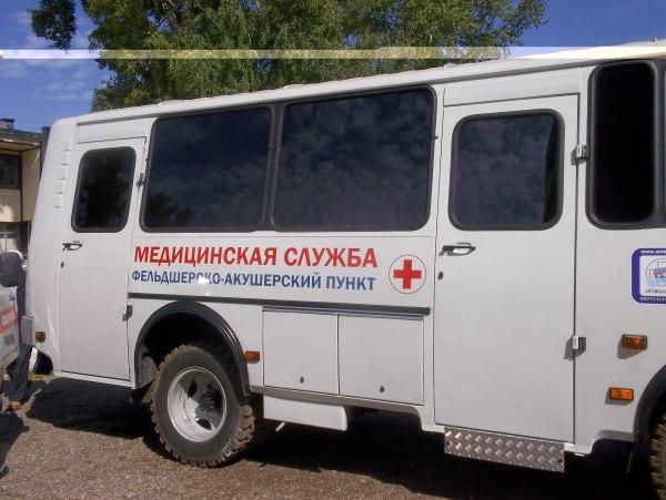 Мобильный ФАП посетит отдаленные села Пыщугского района Костромской области