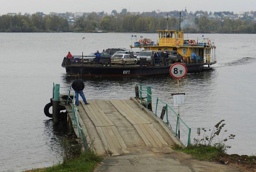 В Костромской области Красносельский паром первым откроет навигацию