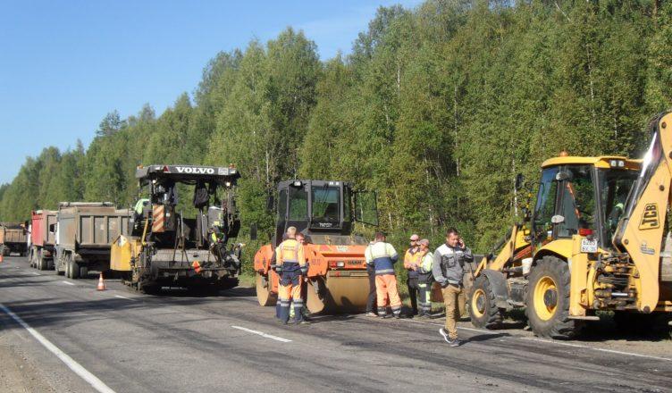 В городе Шарье Костромской области начался ремонт дорог