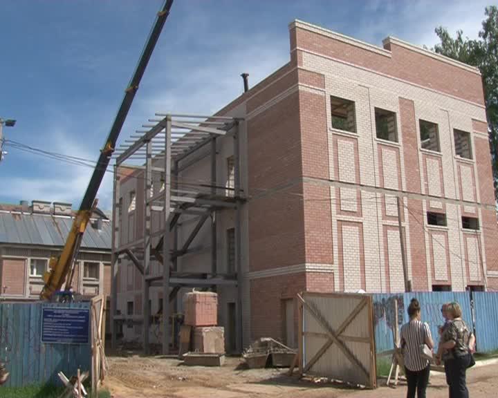 В Костроме достраивают Школу олимпийского резерва