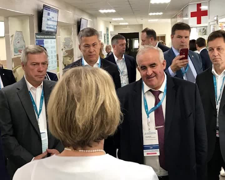 Глава региона Сергей Ситников принимает участие в Федеральном форуме