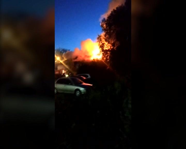 Серьёзный пожар в Костроме