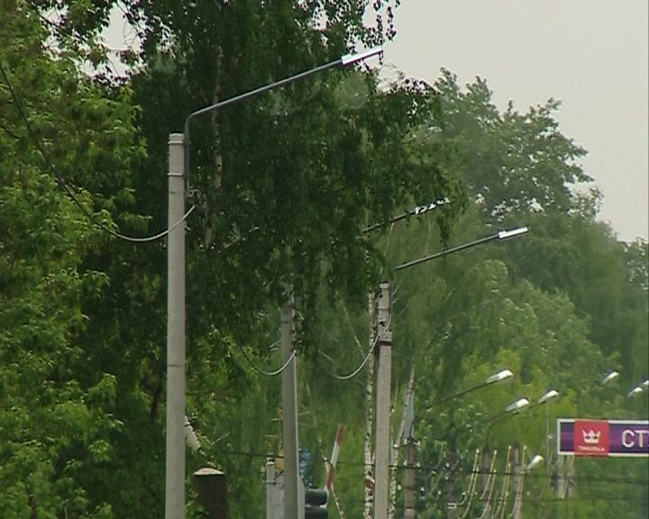 В Костроме совершенствуют систему уличного освещения