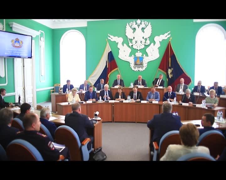 Планы развития дорожной сети региона обсудили на заседании коллегии при губернаторе Костромской области