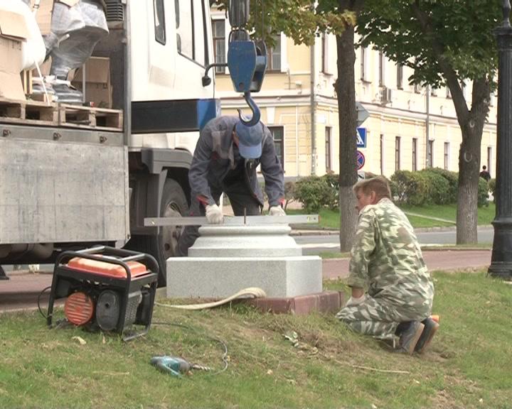 «Аллея героев» в Костроме пополнится еще пятью изваяниями