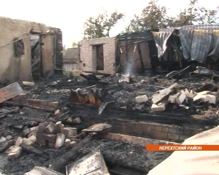 Спасала детей от пожара и получила ожоги второй степени