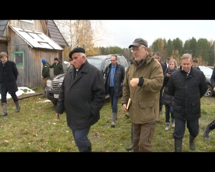 Губернатор Сергей Ситников посетил Антроповский и Парфеньевский районы Костромской области