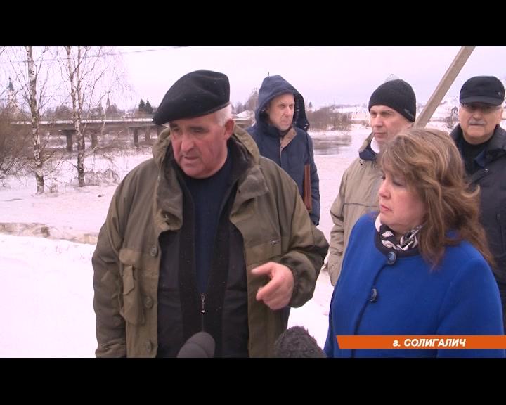 Губернатор Сергей Ситников проверил действия местных властей и встретился с пострадавшими в Солигаличе