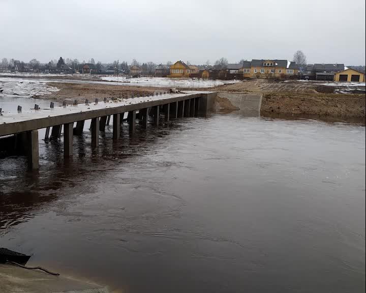 Оперативные службы Костромской области держат на контроле уровень воды на региональных реках
