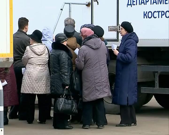 В Костроме продолжается бесплатная вакцинация от гриппа