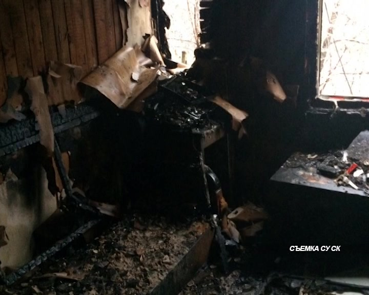 Предварительная причина возгорания  – неисправность электрооборудования