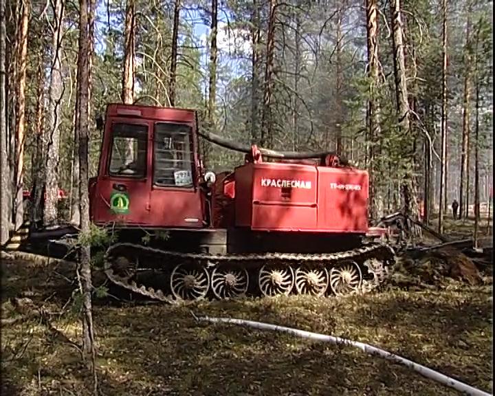 В Костромскую область поступила очередная партия лесопожарной техники