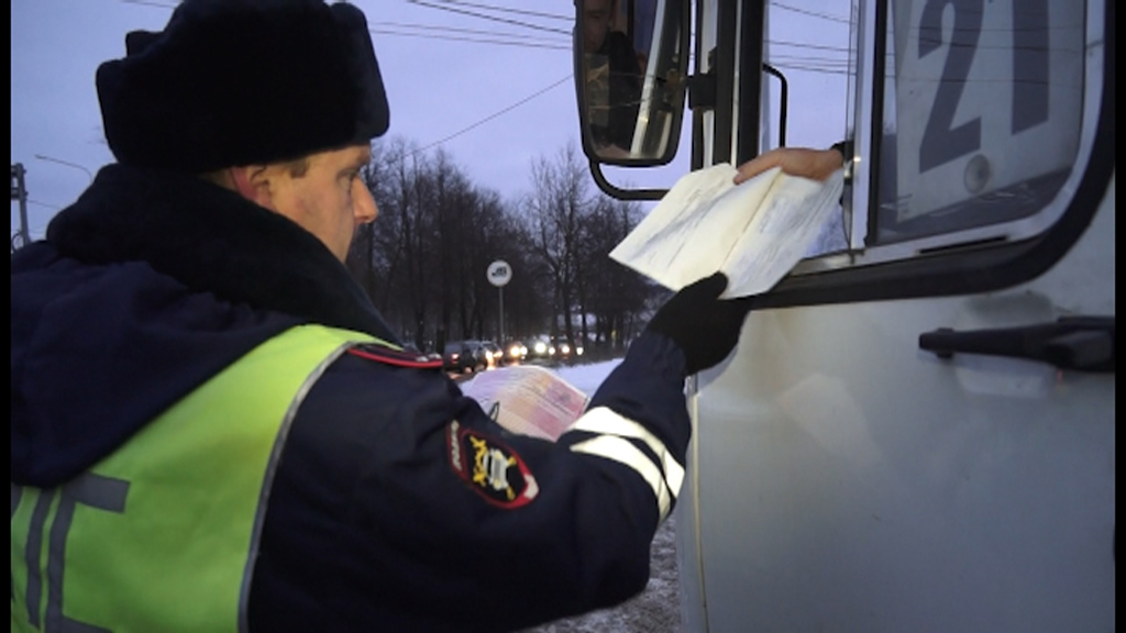 В Костроме ГИБДД проверяет общественный транспорт