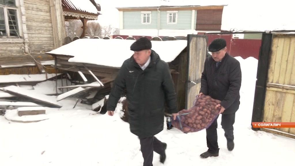 Помочь жителям Костромской области, пострадавшим от паводка! Инициативу проявили единороссы