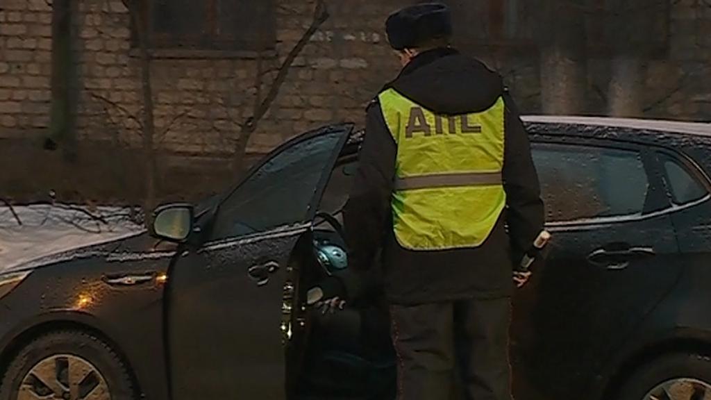 Практика сплошного контроля позволяет полицейским проверить максимальное число автомобилистов за минимальное время