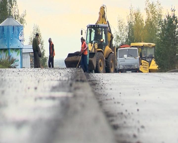 В Пыщуге Костромской области завершается ремонт ул. Свердлова