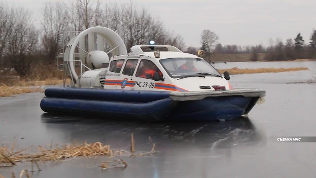 Сегодня в Костромской области отрабатывали навыки спасения утопающих в условиях ледостава