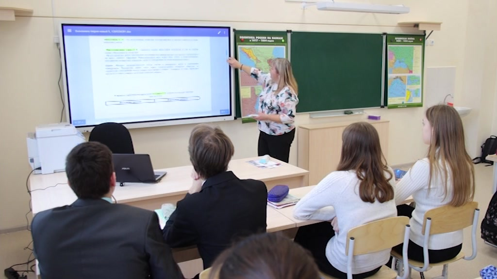 Самая современная школа в Костромской области
