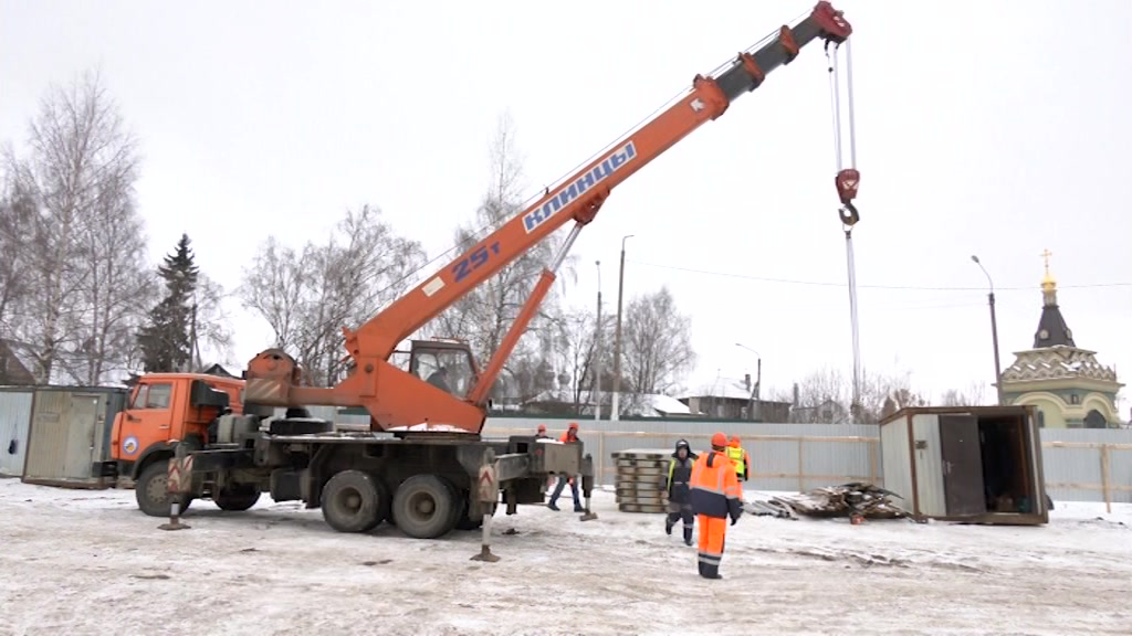 Капитальный ремонт моста через р. Кострома начнут в конце недели