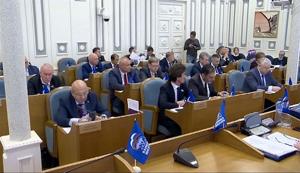 Сегодня депутаты областной Думы соберутся на общее заседание