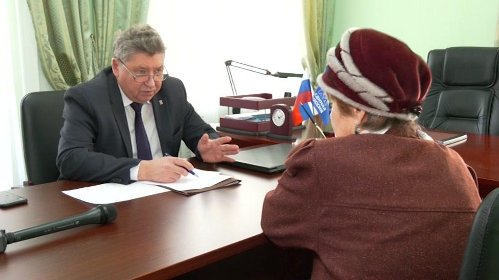Сегодня в приемной «Единой России» прошел личный прием граждан