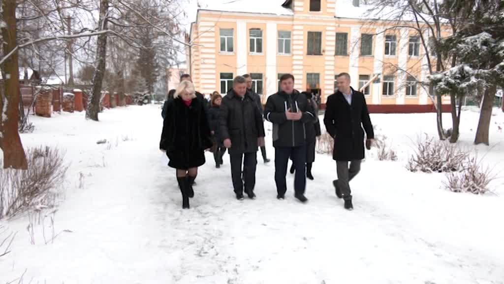 Как в Нерехте реализуются общественные инициативы проверил председатель Костромской областной Думы Алексей Анохин