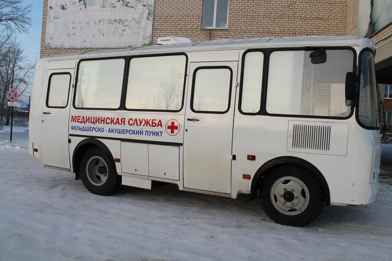 В Костромскую область поступили четыре передвижных ФАПа