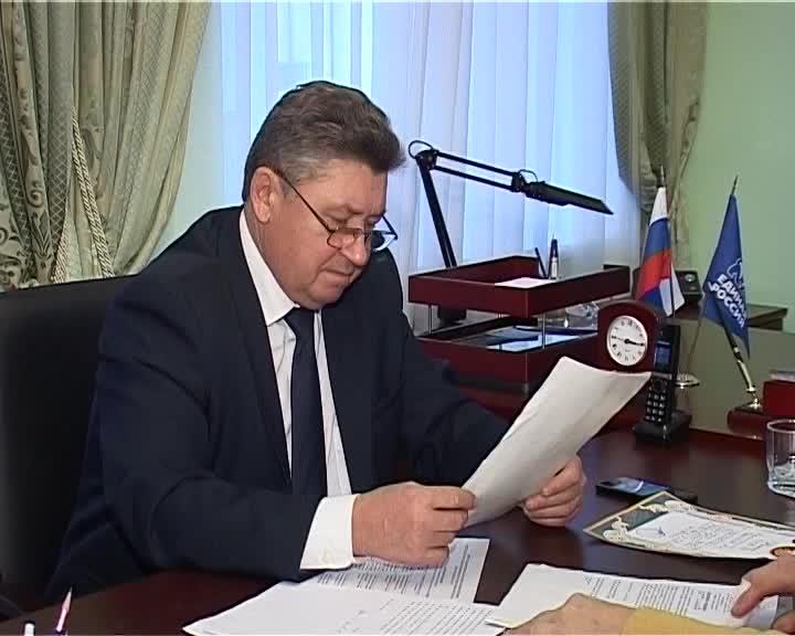 Председатель Костромской областной Думы награжден орденом «За заслуги перед Отечеством» II степени