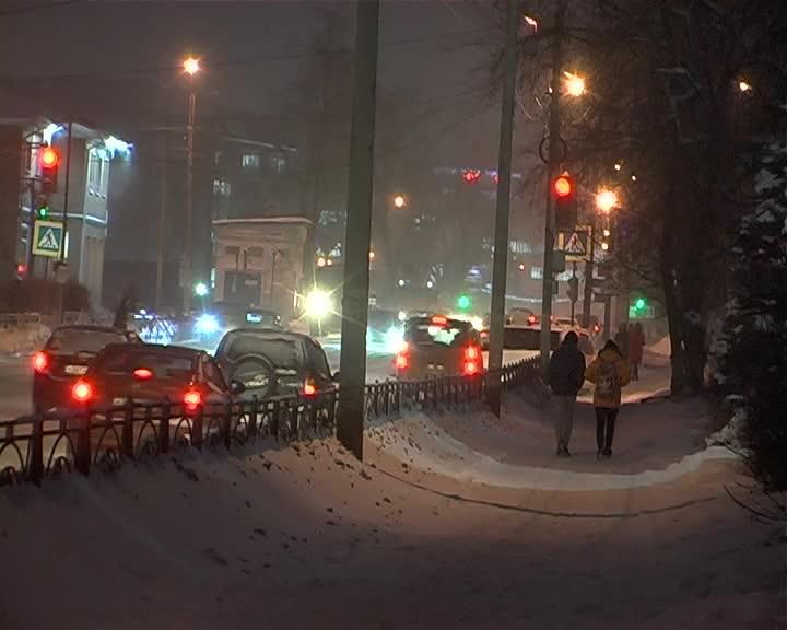 Обильный снегопад надвигается на Костромскую область с юго-востока