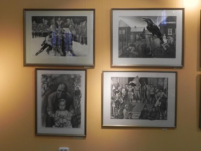 В Костроме открывается выставка художника-графика Александра Нечаева
