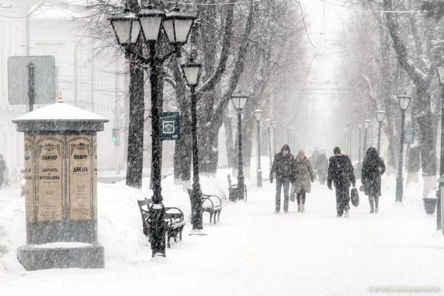 В Костромскую область идет снежный февраль