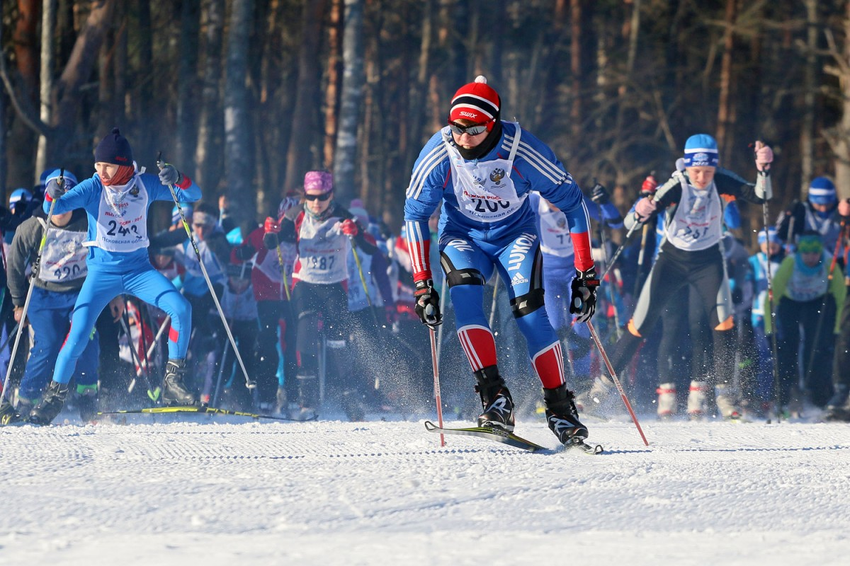 Костромичей приглашают к участию во Всероссийской массовой гонке «Лыжня России»