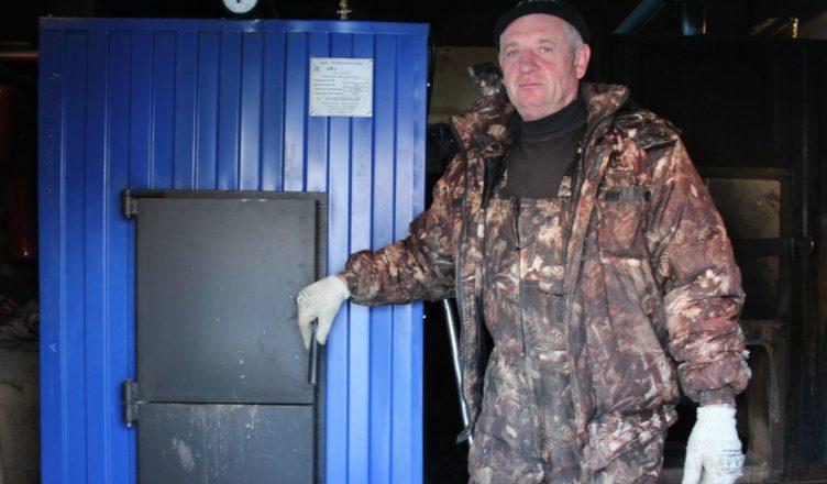 В культурно-досуговом центре поселка Антропово установили новый котел