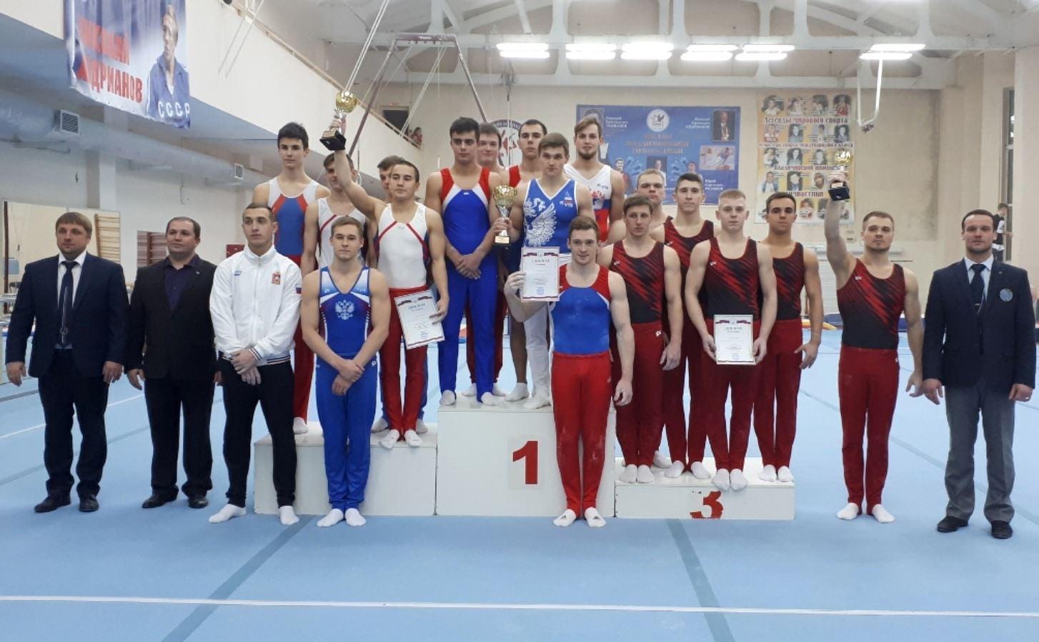 Сборная команда Костромской области вернулась с бронзовой медалью с Чемпионата ЦФО по спортивной гимнастике
